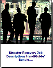 Disaster Revovery Business Continuity Job Descriptions
