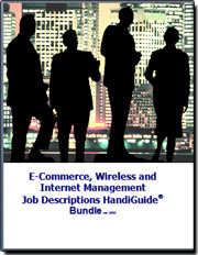 e-Commerce, Wireless, Internet Management Job Descriptions