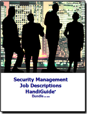 Security Management Job Descriptions